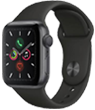Apple Watch Series 3 38 mm Space Grey Aluminium Case with Black Sport Band
