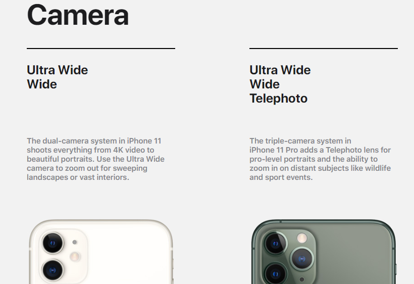 iphone 11 vs 11 pro camera comparison